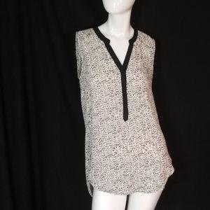 Cheetah Print Sleeveless Tunic